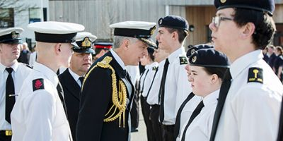 Proud parade day for Combined Cadet Force