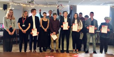 Prince's Trust achievements celebrated with Caroline Lucas