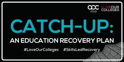 Supporting the Association of Colleges Education Recovery Plan