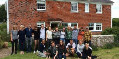 Students spend a week at Jamie's Farm