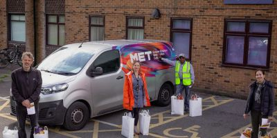 GB MET delivers emergency food parcels to the vulnerable