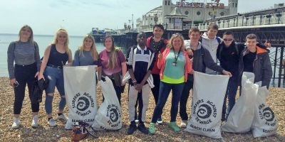 Students tackle plastic pollution