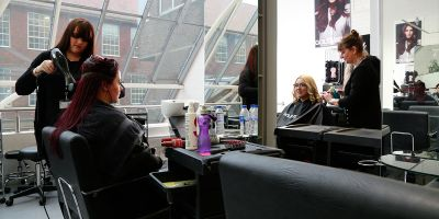 Brighton MET salon gets makeover of its own