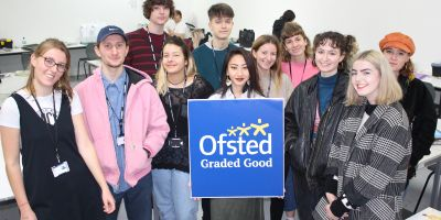 High praise from Ofsted for Teaching at Brighton MET
