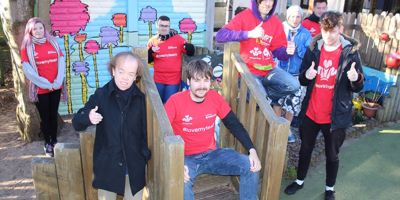 Prince's Trust Team transforms play area in Hangleton
