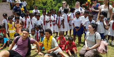 College students inspired after Sri Lanka school visit