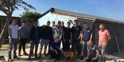 Students lend a hand to local charity