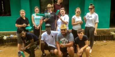 Students return from charity trip to Sri Lanka
