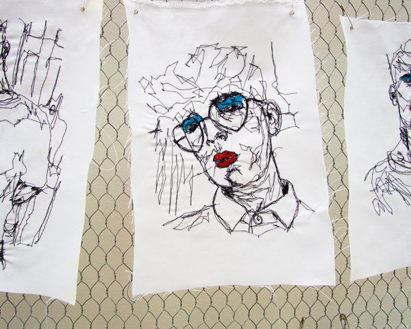 Embroidery artwork