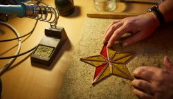 Stained Glass | Christmas Tree Decorations