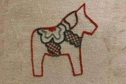 Embroidery | Hand Embroidery | Crewelwork Dala Horse Workshop