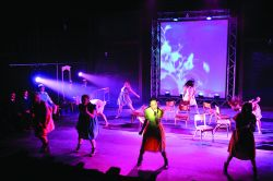 Top-up (final year only) Theatre Arts (performance/design/technical production) - BA (Hons) Degree