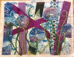 Textiles | Mixed Media Textile Art